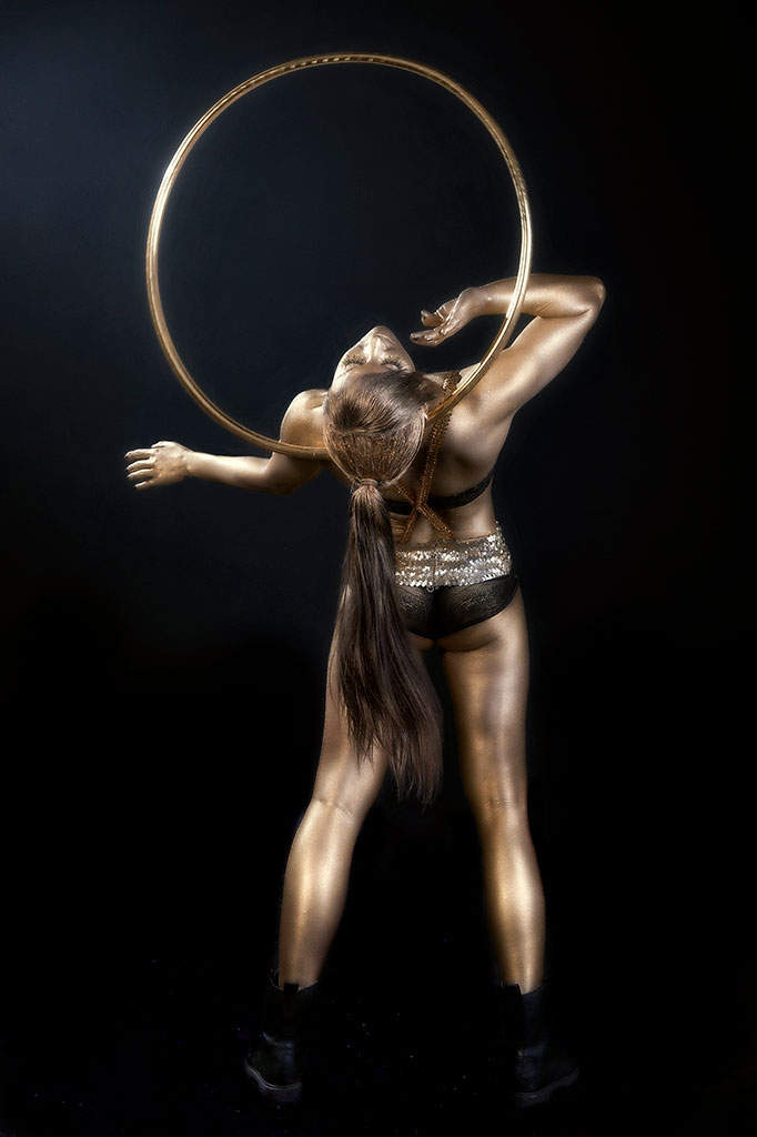 Bodypainter, Pittrice, Pitture murali | Marzia Bedeschi: Gold Performance 2015