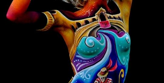Bodypainter, Pittrice, Pitture murali | Marzia Bedeschi: Omaggio a Venezia