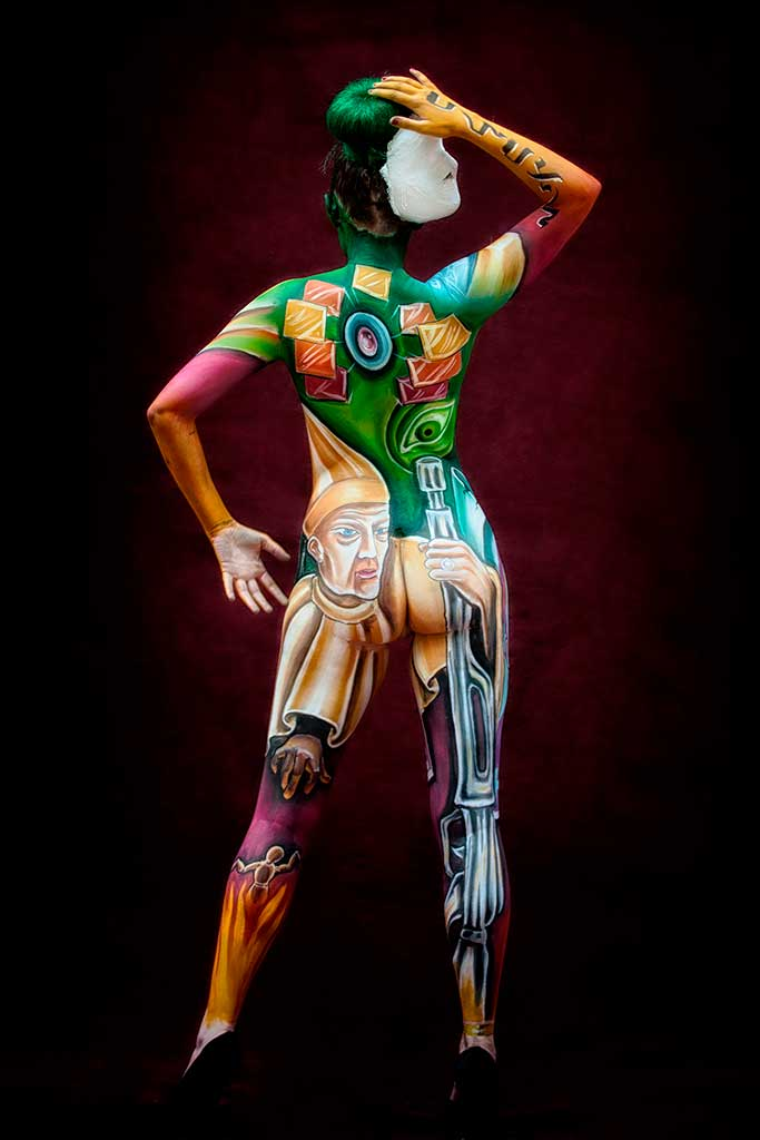 See and save as body paint male porn pict