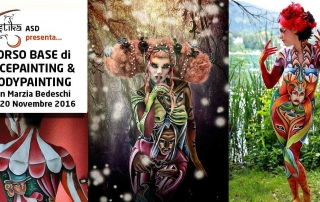 Bodypainter, Pittrice, Pitture murali | Marzia Bedeschi: mestrino workshop 2016