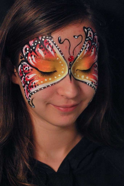Facepainting, Bodypainting, BodyArt | Marzia Bedeschi - butterfly