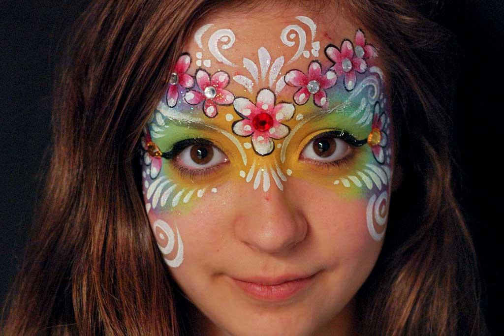 Facepainting, Bodypainting, BodyArt | Marzia Bedeschi - princess of flowers