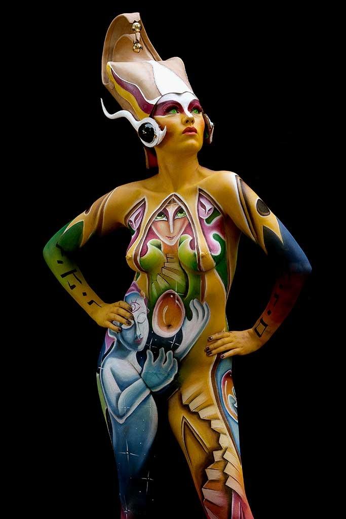 Bodypainter, Pittrice, Pitture murali | Marzia Bedeschi: surrealism