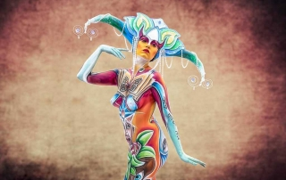 Bodypainter, Pittrice, Pitture murali | Marzia Bedeschi: fate e folletti
