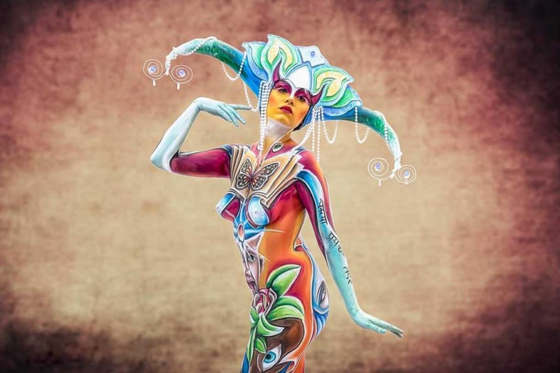 Bodypainter, Pittrice, Pitture murali | Marzia Bedeschi: fate e folletti