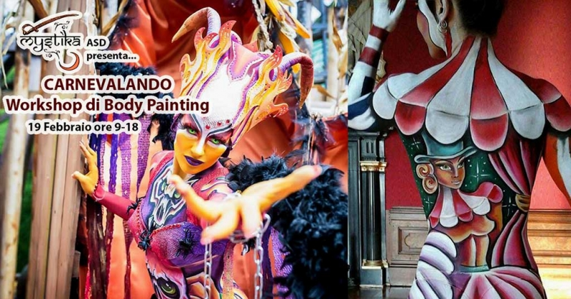 Bodypainter, Pittrice, Pitture murali | Marzia Bedeschi: carnevalando