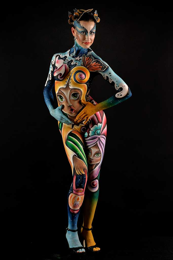 Body Painting Body Art Face Painting Marzia Bedeschi