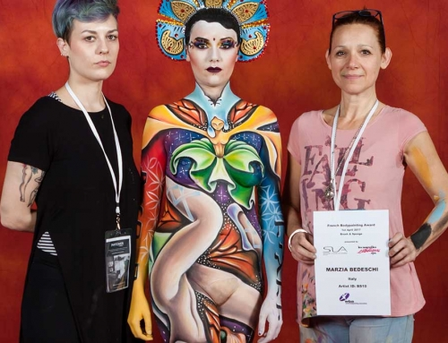 World Bodypainting Festival 2018 Marzia Bedeschi Bodypainter