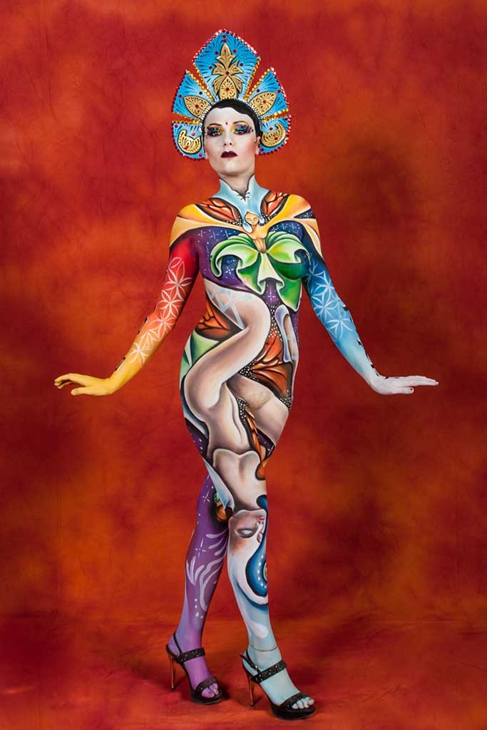 Body Painting, Body Art, Face Painting | Marzia Bedeschi - Dance life in motion