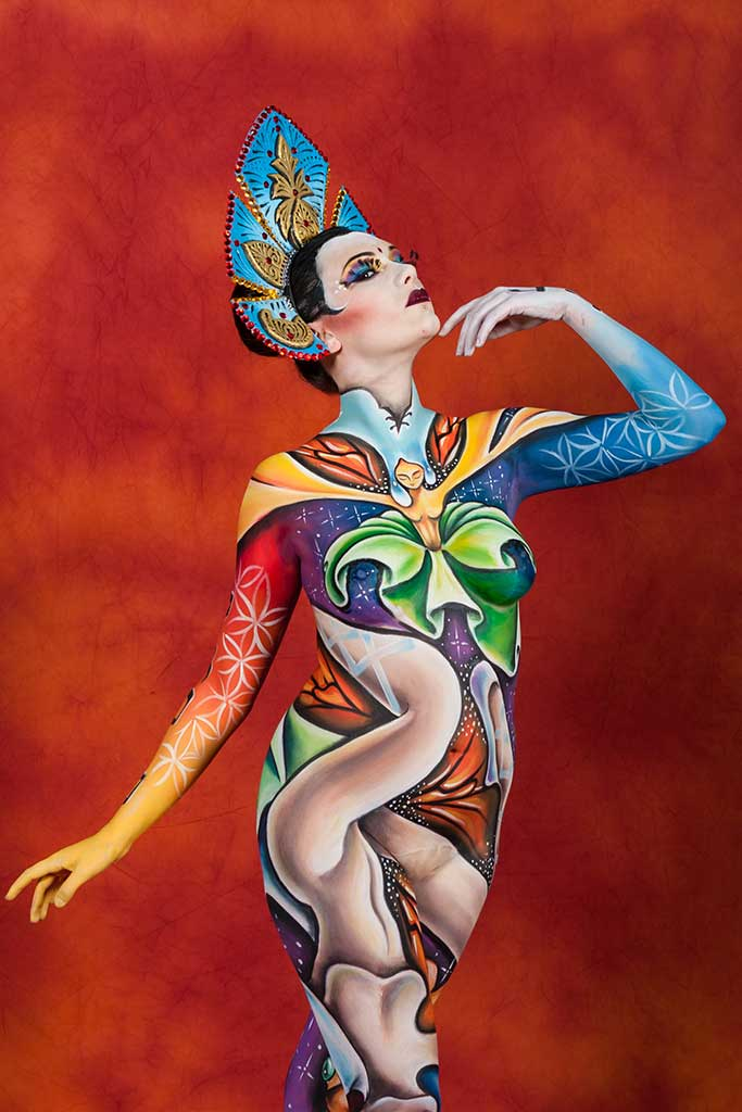 Dance Life In Motion Body Painting Body Art Face Painting Marzia Bedeschi