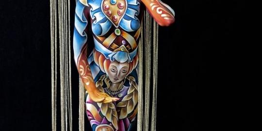 Bodypainter, Pittrice, Pitture murali | Marzia Bedeschi: World Bodypainting Festival 2018 - 1° place